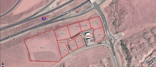 Retail Pads Fronting I-15