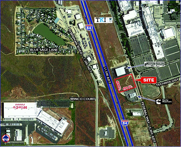 Industrial Land With I-84 Frontage For Sale
